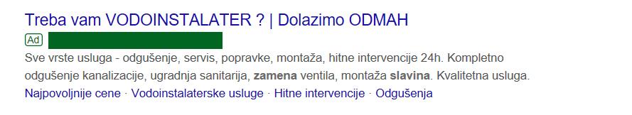 Personalizovane Google oglase